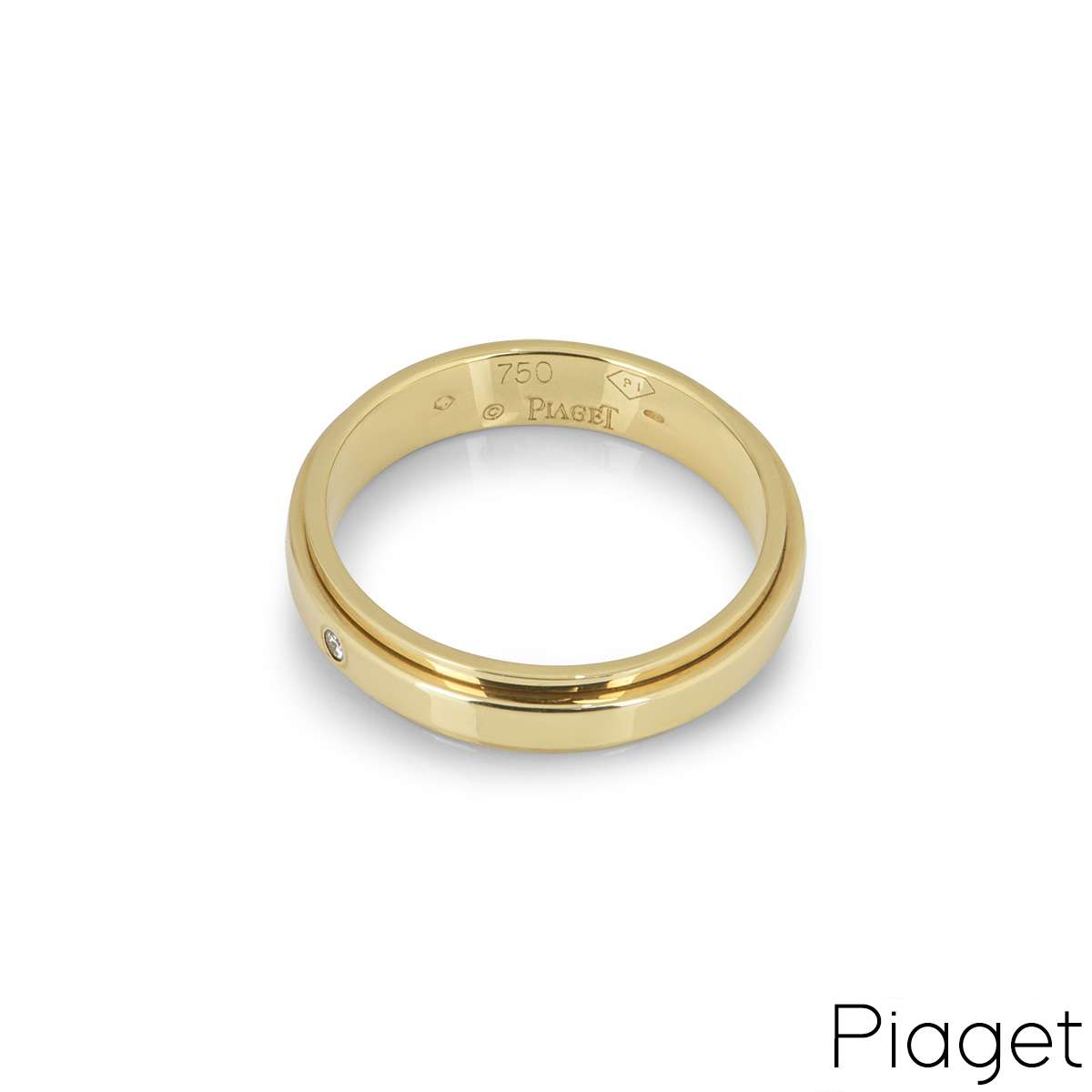 Piaget Yellow Gold Diamond Set Possession Ring